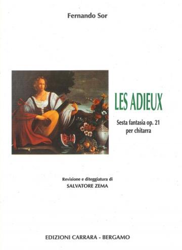 Les Adieux. Fantasia op. 21 for guitar.