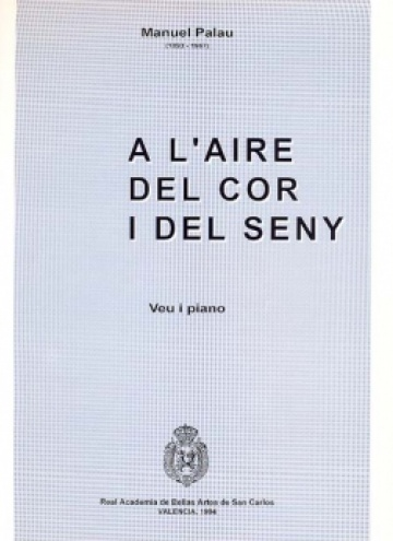 A l'aire del cor i del seny, songs for voice and piano