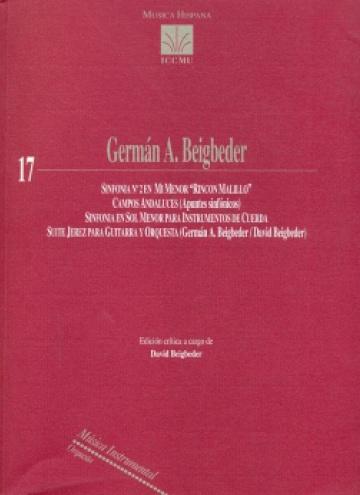 Sinfonía nº 2/Campos andaluces/Sinfonía en Sol menor/Suite Jerez