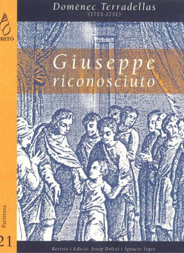 Giuseppe riconosciuto, oratorio in three acts