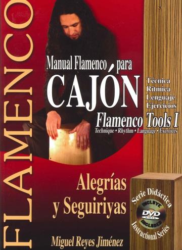 Manual flamenco para cajón (con DVD)Alegrías y seguiriyas