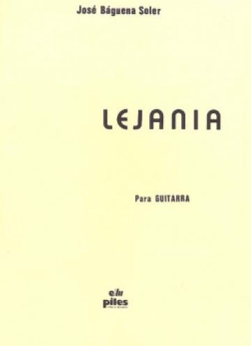 Lejanía, for guitar