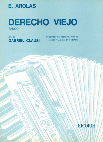 Derecho viejo (accordion transcription)