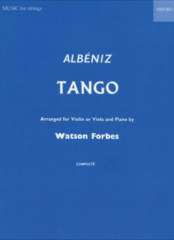 Tango arranged for violin