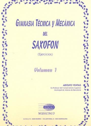 Gimnasia técnica y mecánica del saxofón (vol. 1)