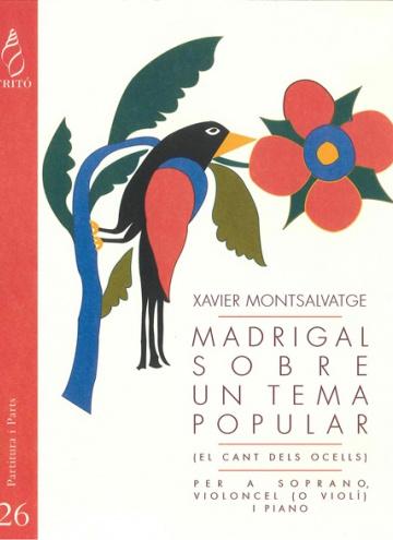 Madrigal on a catalan folk theme (chamber version)