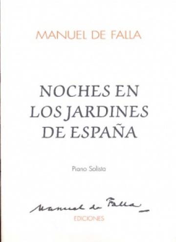 Noches en los jardines de España (piano)