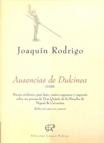 Ausencias de Dulcinea (Reducció per a veu i piano)