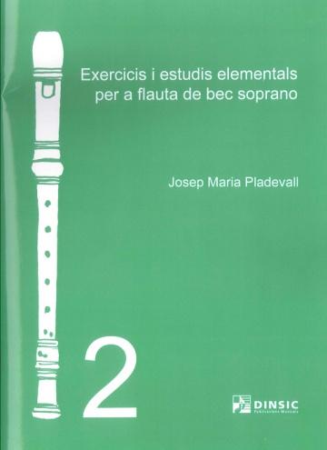 Exercicis i estudis elementals per a la flauta de bec soprano 2