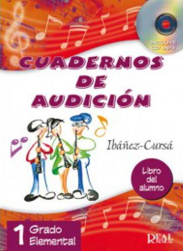 Cuadernos de audición. vol. 1 (con CD). 1º grado elemental