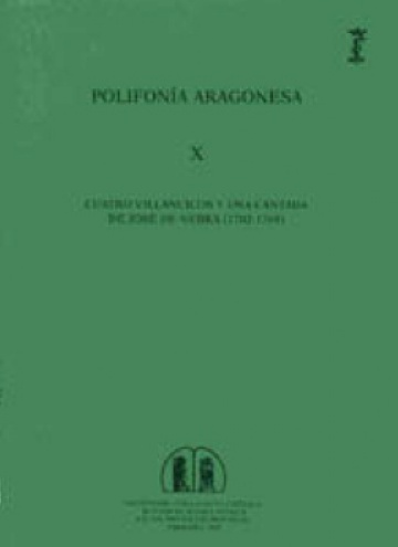 Cuatro villancicos y una cantada de José de Nebra (1702-1768) [Polifonía Aragonesa, X]
