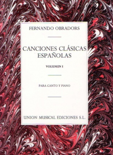 Canciones clásicas españolas, I