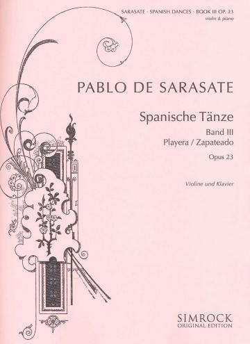 Spanische Tänze - op. 23 Band III