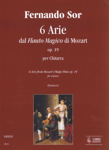 6 Arie dal Flauto Magico di Mozart op.19 per a guitarra