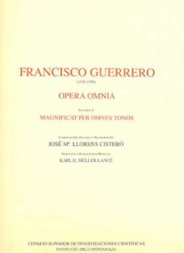 Opera Omnia vol. X - Magnificat per omnes tonos