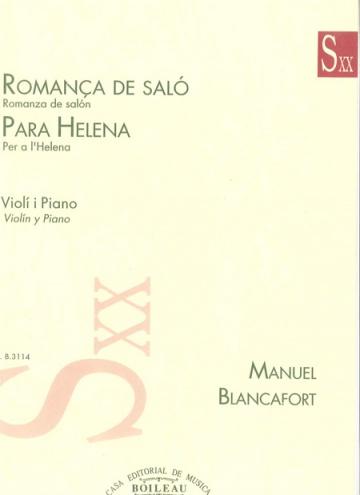 Romança de Saló / Per a Helena