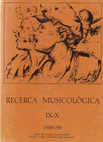 Musicological Research IX-X