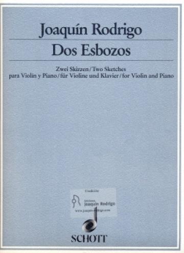 Dos esbozos (two sketches)