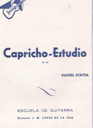 Capricho-estudio op.-45
