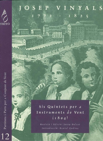 Six Quintets for wind instruments