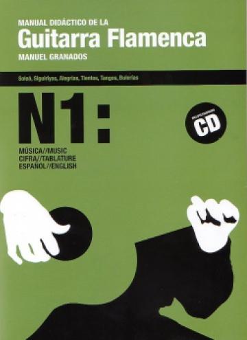 Manual didáctico de la Guitarra Flamenca vol.1