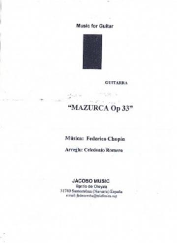 Mazurka op. 33