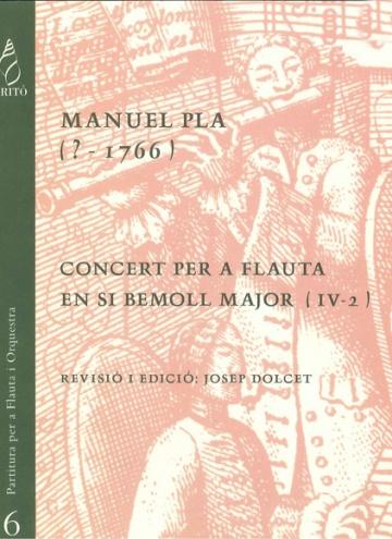 Flute Concerto in B flat major (IV-2)