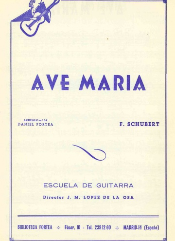 Ave Maria (2 guitars)