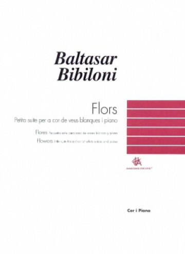 Flors (vocal-piano score)
