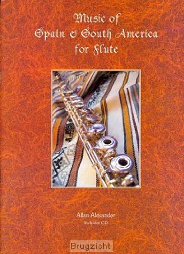 Música de España y Sudamérica para flauta (con CD)