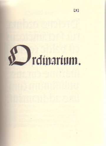 Ordinarium Barchinonense 1501. Edició facsímil de l'ordinari de Barcelona imprès a l'any 1501, amb una introducció d'Amadeu-J. Soberanas