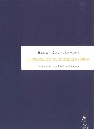 Introducció, Cadenza i Aria