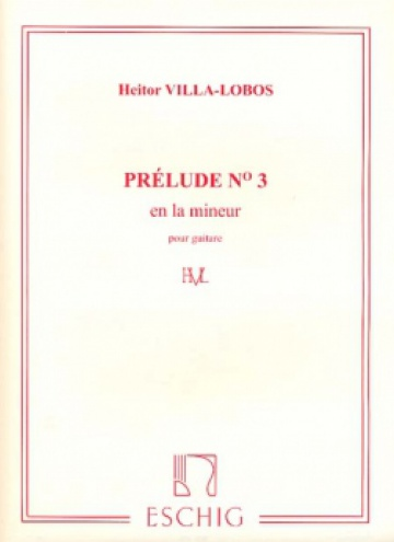 Prelude nº 3, for guitar