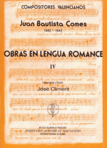 Obras en lengua romance Vol.IV