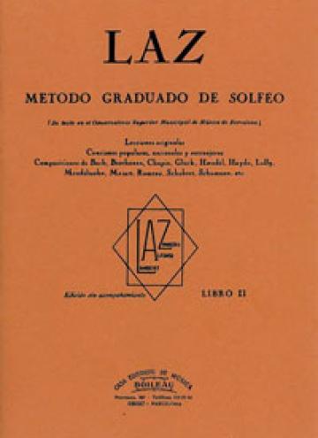 LAZ, Método de Solfeo Vol.2º, by Lambert/Alfonso/Zamacois