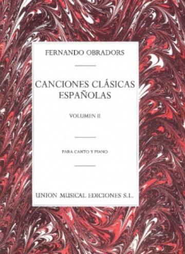 Canciones clásicas españolas, II