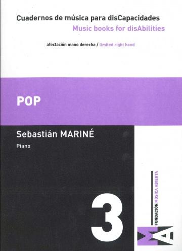 Cuadernos de Música para discapacidades vol 3 - Pop