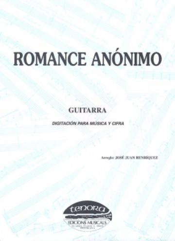 Romance anónimo