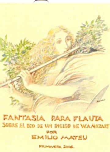 Fantasía para flauta (sobre el eco de un inciso de W.A.Mozart)