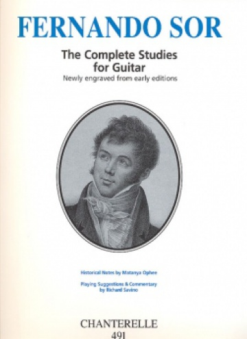 The complete studies for guitar in urtext