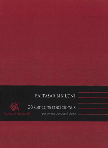 20 Cançons tradicionals for treble voices and piano (third edition)