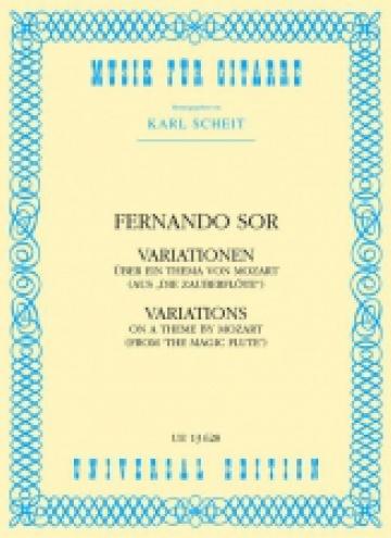 Variationen op. 9 über ein Thema von Mozart
