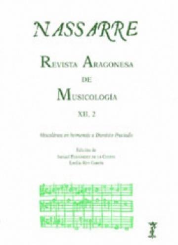 Nassarre. Revista Aragonesa de Musicología, XII, 2