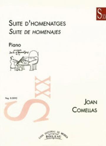 Suite d'homenatges, de Joan Comellas
