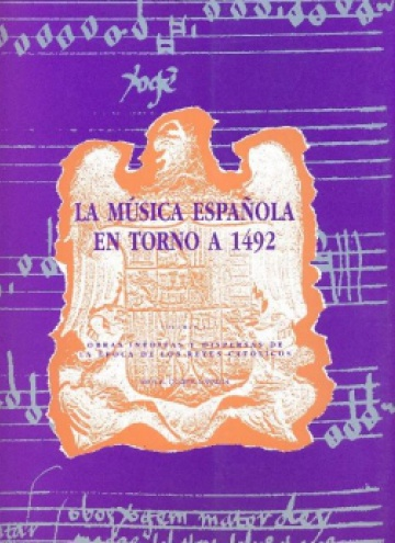 La música española en torno a 1492, II, (Spanish Music around 1492 - II)