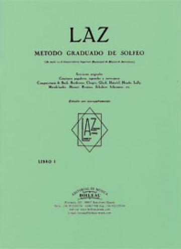LAZ. Método de solfeo 1º acompañamiento, de Lambert/Alfonso/Zamacois