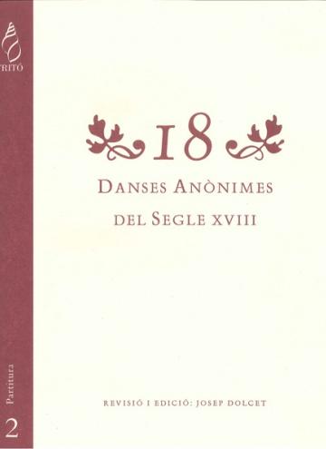 18 Dances of the XVIIIth century