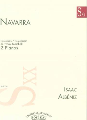 Navarra (Transcripció per a dos pianos)
