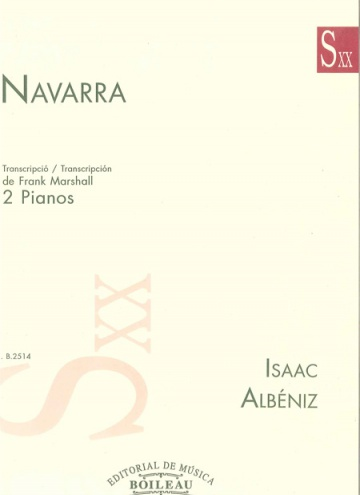 Navarra (Transcription for two pianos)