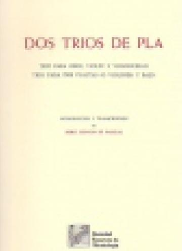Dos trios de Pla